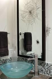 Halloween Bathroom Decor Seasonal Style Halloween Home Tour Blue I Style