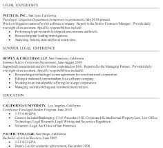 Law Office Assistant Resume Sample Entry Level Paralegal Resume Resume Example For Paralegal