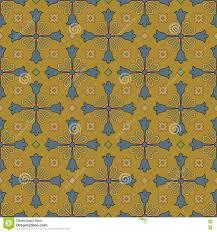 blue kaleidoscope wallpaper antique seamless background image of vintage brown blue cross flower