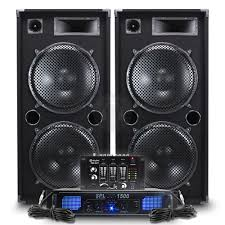 home theater power amplifier big party speakers pa amplifier professional dj mixer disco 1200w