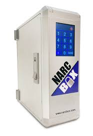 temperature controlled medication cabinet narc box digital entry narcotics box
