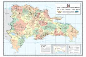 Map Dominican Republic Dominicana On Line
