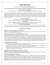General Manager Resume Food Safety Consultant Sample Resume Sample Resume For Teens