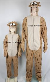 Yugioh Halloween Costume Regular Show Rigby Jumpsuit Mascot Fleece Child Kids Hood