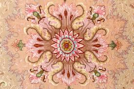 Pink Oriental Rug Intricate Large Vintage Tabriz Persian Rug 51143 By Nazmiyal