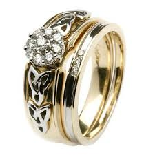 celtic wedding ring sets celtic wedding rings sets 97297 jewelry exhibition