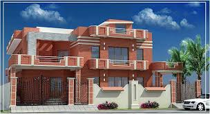 3D Front Elevation Pakistan Beautiful Front ELevation of