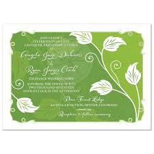 wedding invitations greenery greenery wedding invitation green leafy vine leaves