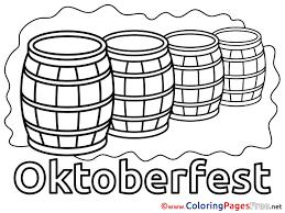beer barrels printable coloring pages free