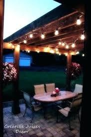 outdoor patio string lights ideas outdoor patio lighting ideas pictures patio outdoor string lights