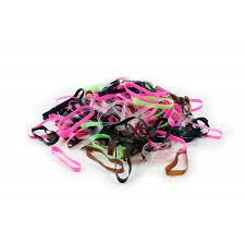 hair bands lyxo hair band elastics blax bestseller silicone rubber clear
