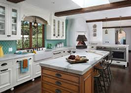 kitchen style awesome mediterranean kitchen design with white