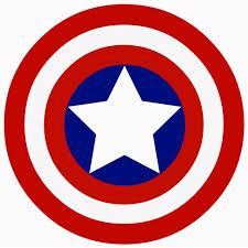 captain america shield coloring page olegandreev me