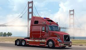 trailer volvo volvo vnl 670 truck v 1 2 by aradeth american truck simulator
