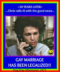 Gay Marriage Memes - dog day afternoon meme gay marriage by gaga4frightnight on deviantart
