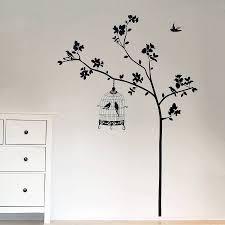 bathroom wall decorations tree wall stickers amazing tree wall decals with birds 900 x 900 58 kb jpeg