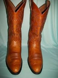 ariat s boots size 9 ariat camel tone leather s boots size 9 d ebay