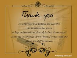 thank you notes for wordings and messages