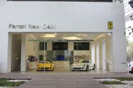 ferrari dealership showroom file ferrari new delhi dealership october 2013 jpg wikimedia