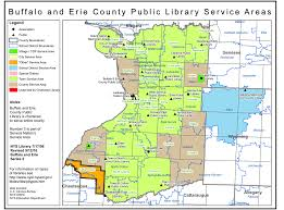 Buffalo Map Erie County Public Library Earthquake Spectral Acceleration Value