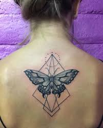 28 beautiful black and grey butterfly tattoos blackwork