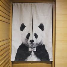 Room Divider For Kids by Aliexpress Com Buy Chinese Giant Panda Curtain Cartoon Kids Room