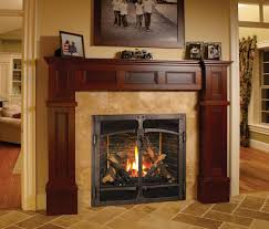 fake fireplace insert classic living room design with fake flame