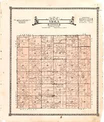 Iowa Illinois Map 1921 Farmers U0027 Directory Of Viola Iowa U2013 Access Genealogy