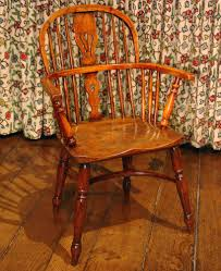 Antique English Windsor Chairs Antique Windsor Chair Yew Wood C 1830 To C 1880 English From