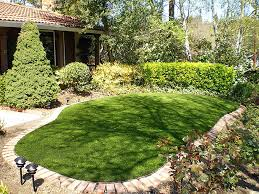 Backyard Hill Landscaping Ideas Turf Grass Sedco Hills California Backyard Deck Ideas Backyard