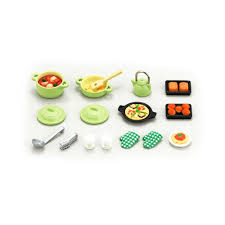 loisir cuisine set ustensiles de cuisine sylvanian jouet et loisir adolescent