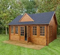 wooden log cabin 18 x 13 berkshire billingbear 44mm log cabin what shed