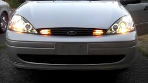 2003 ford focus headlight bulb 2003 ford focus se with led lighting