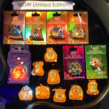 mickey s halloween party 2017 disneyland 2015 mickey u0027s not so scary halloween party pins disney