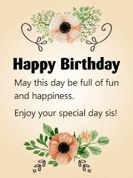 110 best birthday cards for sister images on pinterest sister