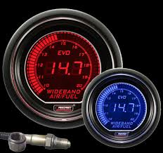 wide band wideband blue digital air fuel ratio evo series
