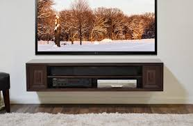 Floating Shelves For Tv by Furniture Wall Mounted Shelves For Tv Modern New 2017 Wall White