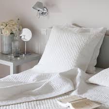 plaid blanc pour canapé plaid de lit coton la plaid