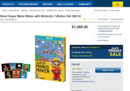 wii u prices on black friday best buy canada u0027s idea of a black friday video game sale