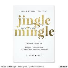 jingle and mingle holiday party invitations invites u0026 tags