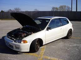 honda hatchback 1993 1993 honda civic pearl white hatchback si model sale