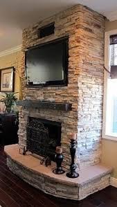 stone wall fireplace fake wall fireplace foter