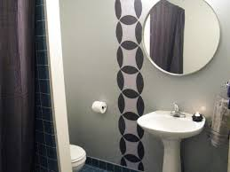 Half Bathroom Design Bathroom Simple Half Bathroom Designs Modern Double Sink