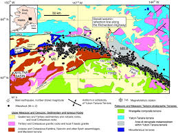 Alaska Marine Highway Map by Geophysical Data Reveal The Crustal Structure Of The Alaska Range