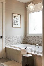bathroom surround tile ideas half tiled tub nook design ideas