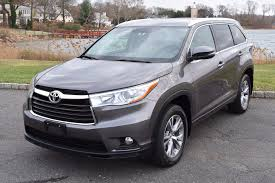 2015 toyota highlander xle stock 7370 for sale near great neck