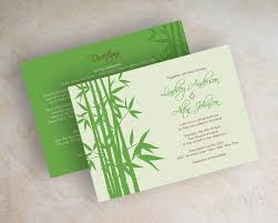 green wedding invitations asian themed invitations inspired wedding wedding