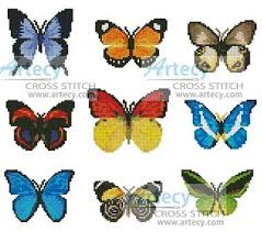 butterfly sler cross stitch pattern slers