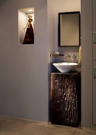 kohler sink in powder room contemporary with small powder room