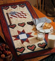 americana summer quilted table runner pattern howstuffworks